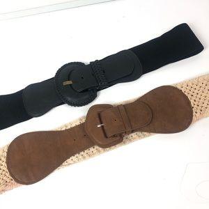 2 Torrid Fashion Belts size 3
